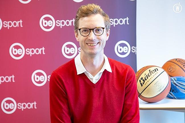 Rencontrez Edouard, CEO - Be Sport