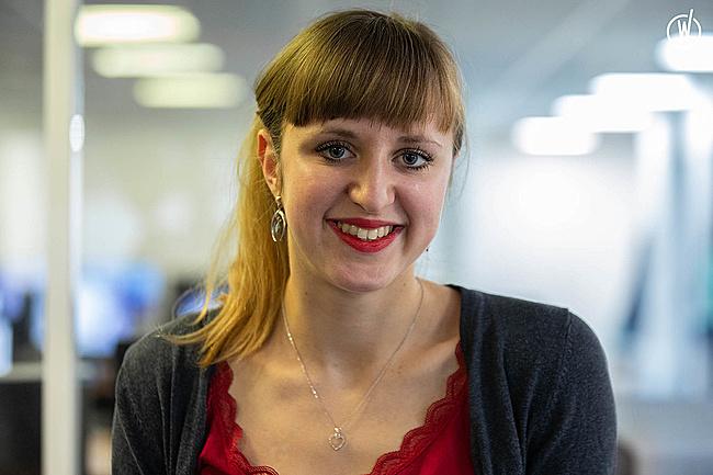 Rencontrez Marie, Ingénieure Développement Web - Tribvn Healthcare