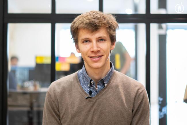 Rencontrez Grégoire, CEO