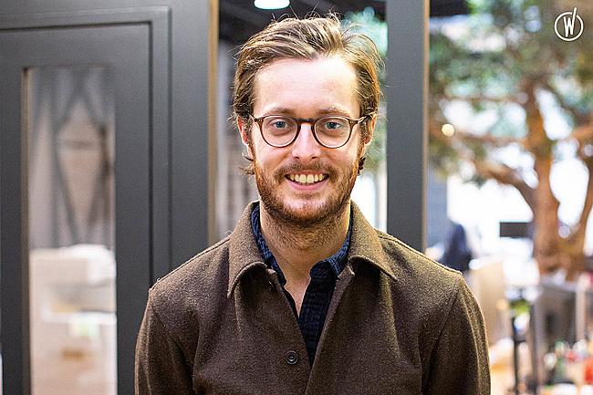 Rencontrez Matthieu, Directeur de clientèle - Go and Up