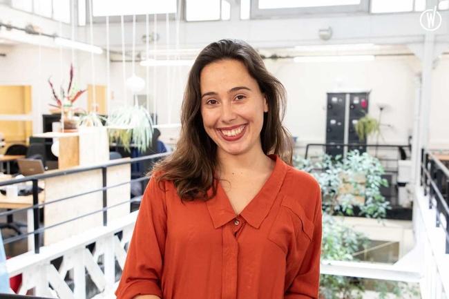 Rencontrez Mathilde, Directrice de l'incubateur