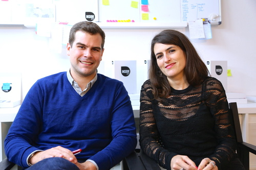 Rencontrez Benjamin, Co-Founder & CEO et Nina, Co-Founder, Design & Product