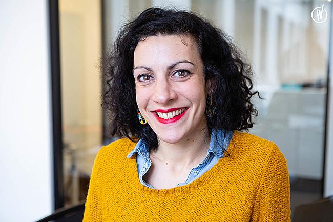 Rencontrez Camille, Chargée de recrutement  - Groupe Bertrand