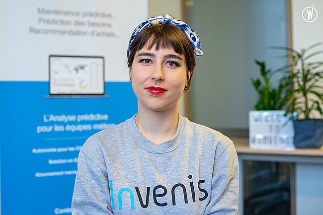 Rencontrez Emeline, Front-End Developer - Invenis
