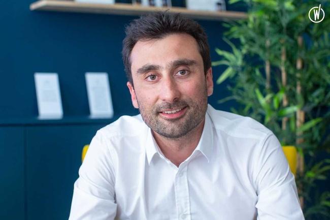 Rencontrez Sébastien, Directeur Général