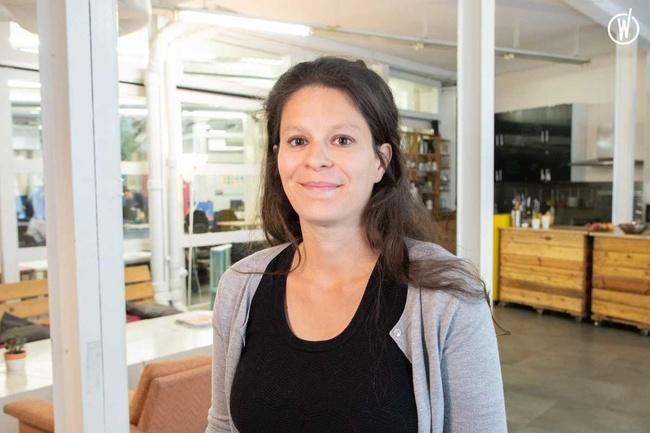 Rencontrez Coralie, Co-fondatrice - makesense