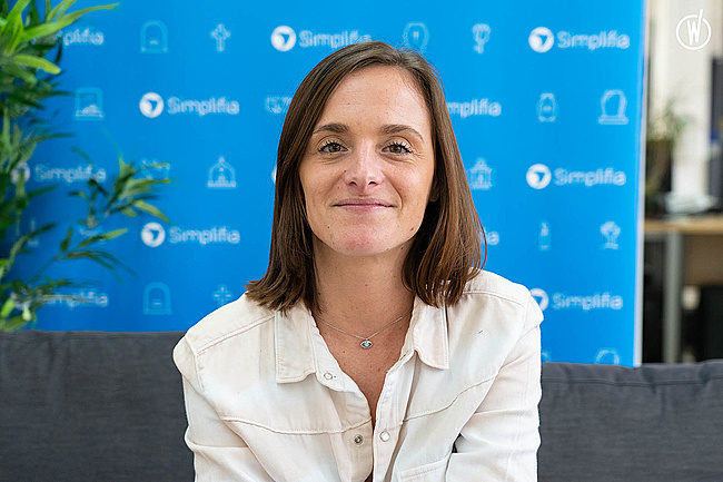 Rencontrez Margaux, Customer Success - Simplifia
