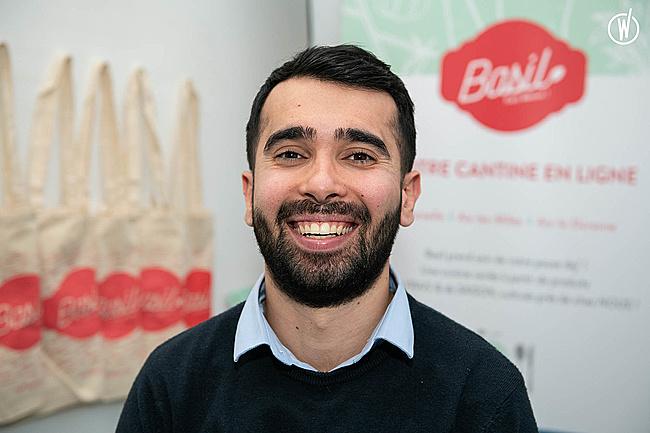 Rencontrez Guney , Co-fondateur en charge de la tech & de la finance - Basil