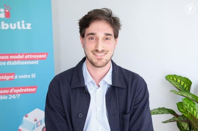Rencontrez Louis, Business Developer - Ambuliz