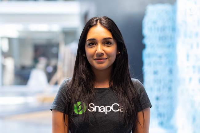 Rencontrez Natalia, Growth marketing - SnapCall