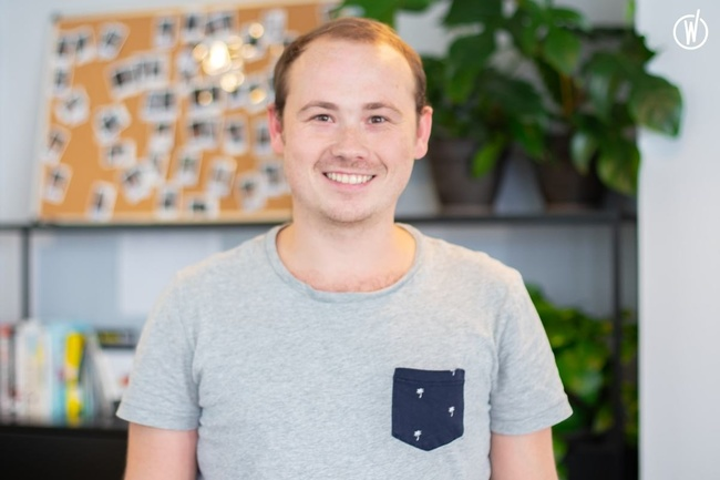 Rencontrez Maxence, Tech Squad Leader