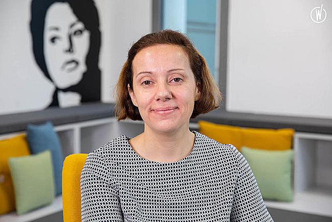 Rencontrez Marine, Directrice des Risques Vie et Santé Life Savings and Health Chief Risk - AXA