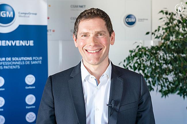 Rencontrez Olivier, Directeur Développement - CompuGroup Medical