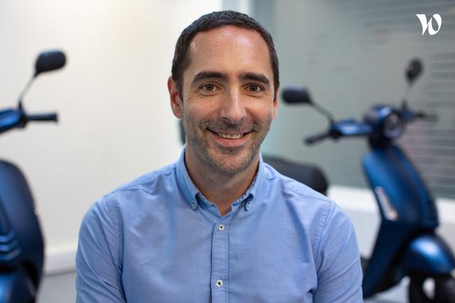 Rencontrez Jérémy, Head of Digital Product - ZEWAY
