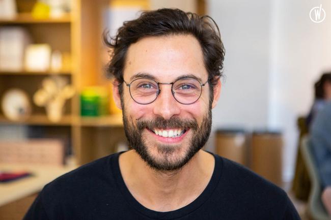 Rencontrez Maxime, CEO & Cofondateur - Papier Tigre