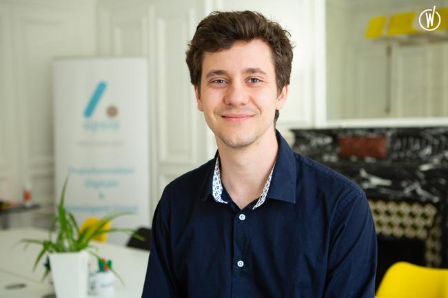 Rencontrez Alexandre, Analyste développeur
