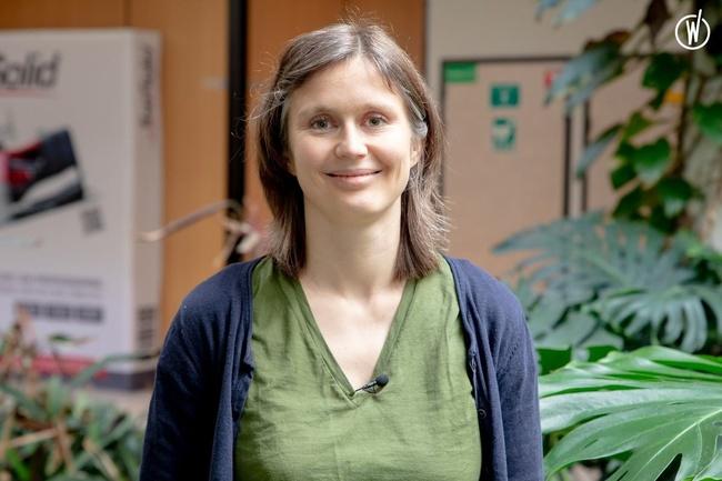 Rencontrez Caroline, Développeur - TOPSOLID