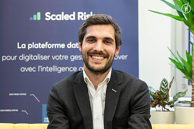 Rencontrez Hugo, Head of Sales - Scaled Risk