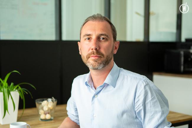 Rencontrez Olivier, Directeur Business Développement