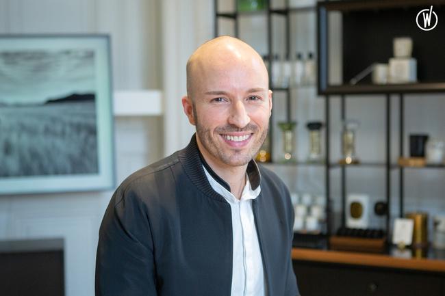 Rencontrez Nicolas, Directeur de boutique  - diptyque paris