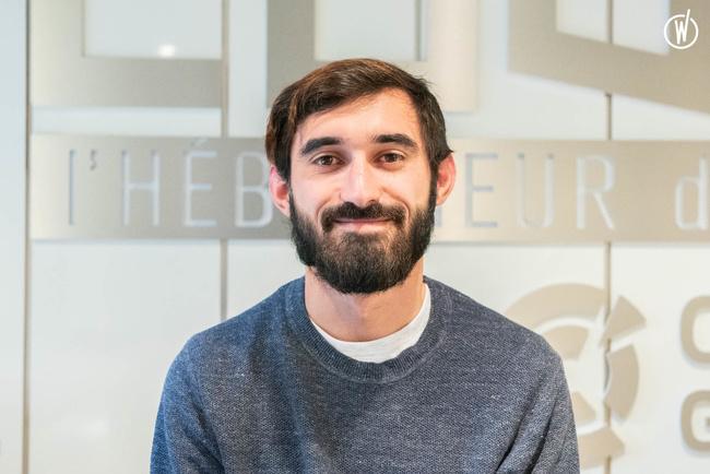 Rencontrez Thibaud, Développeur