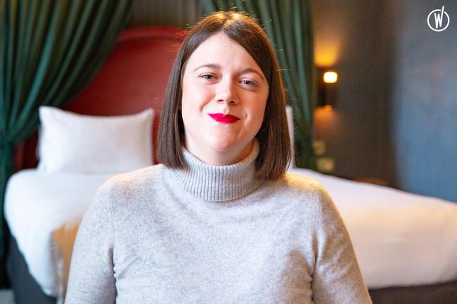 Rencontrez Adrienne, Directrice Hébergement Paris - Experimental Group