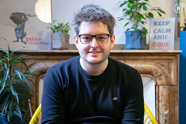 Rencontrez Gregory, Consultant Cloud & DevOps - GEKKO