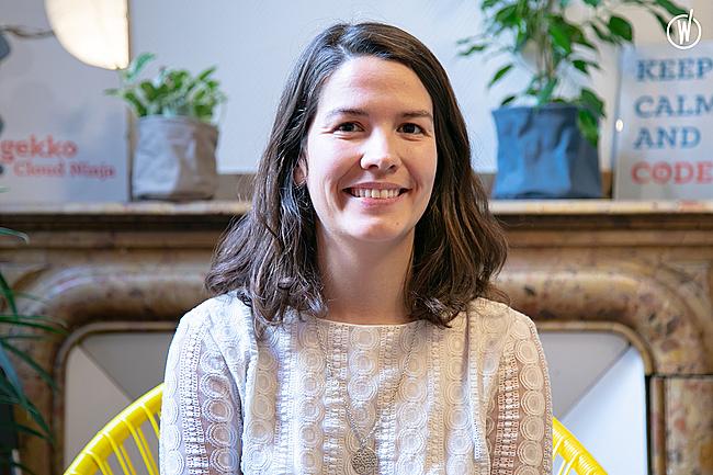 Rencontrez Mathilde, Consultante Cloud & DevOps - GEKKO