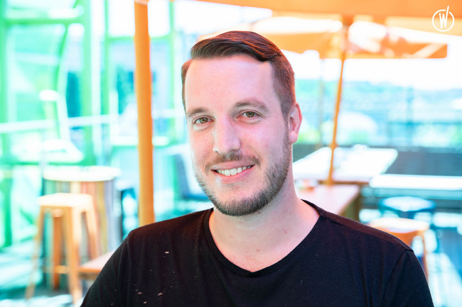 Meet Adrien, Site Director - Groupe Café Oz