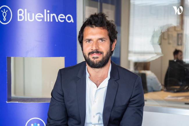 Rencontrez Adrien, Directeur du e-Commerce - Bluelinea
