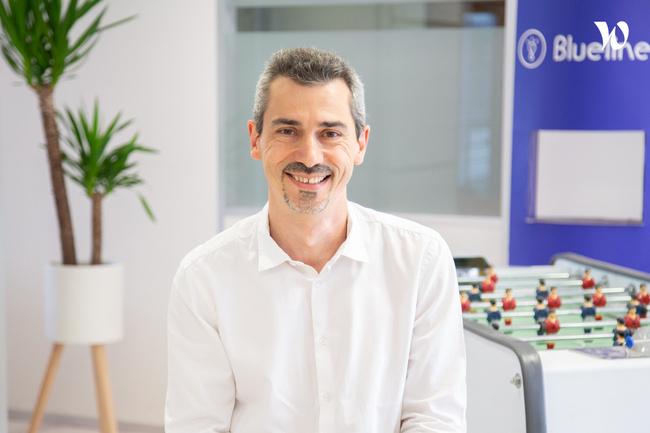 Rencontrez David, Directeur Innovations & Services  - Bluelinea