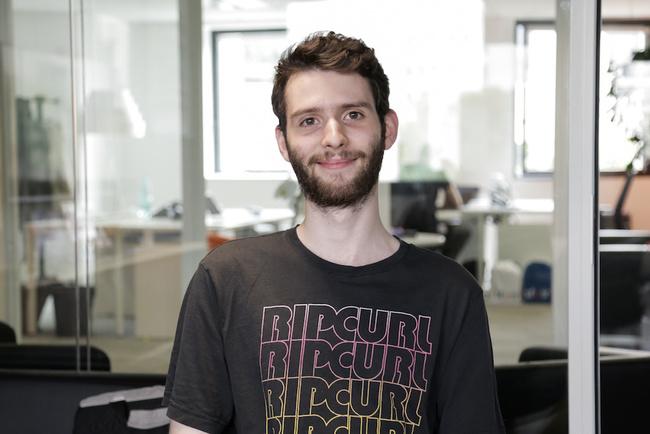 Rencontrez Romain, Développeur Front End