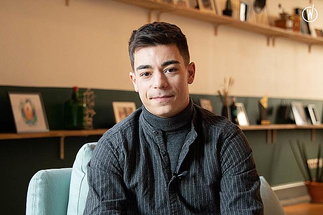Rencontrez Clément, Social Media Manager - OP1C (On prend un café)