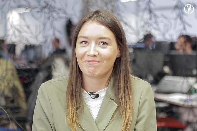 Meet Aline, Webmarketing et content officer - Selectra
