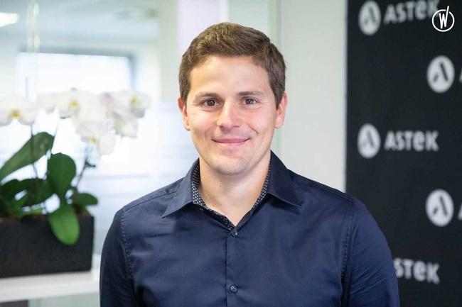 Rencontrez Marc, Chef de projet - Astek