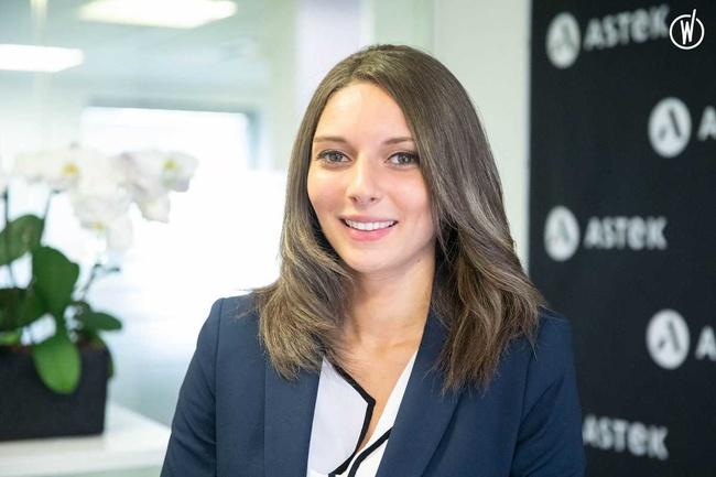 Rencontrez Melissa, Consultante - Astek