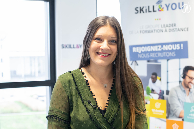 Rencontrez Coralie, Chef des Ventes - Skill and You