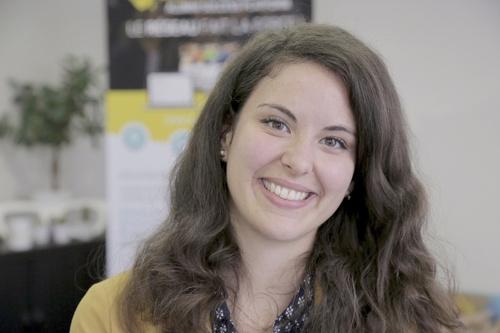 Rencontrez Céline, Product Designer  - AlumnForce - Alumni Success Platform