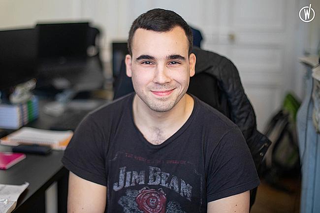 Rencontrez Amaël, Développeur full stack - Kwyk