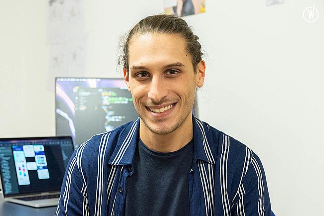 Rencontrez Max, Designer UI/UX - Pony