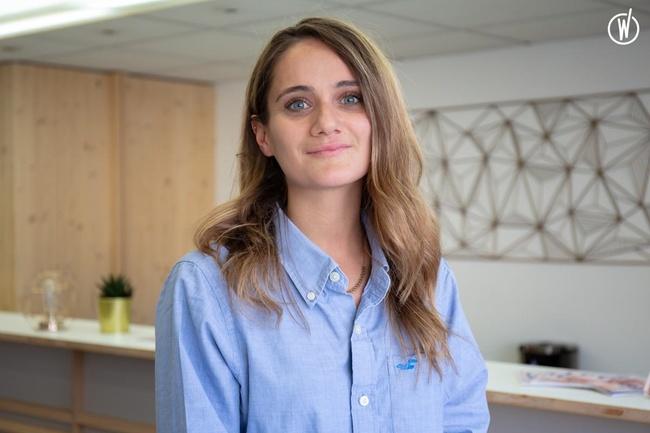Rencontrez Bérénice, Cheffe de projet numérique - Le Cube