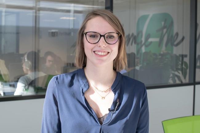 Rencontrez Cynthia, Front-end Developer - Tymate
