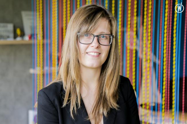 Rencontrez Charline, Développeuse Back End à Luxembourg