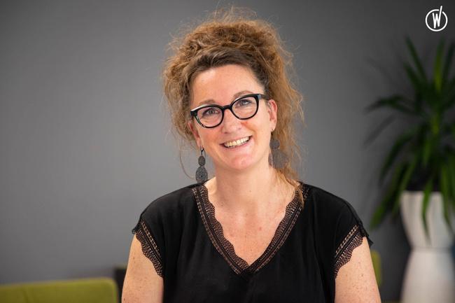 Rencontrez Aude, Manager Equipe  - Jouve