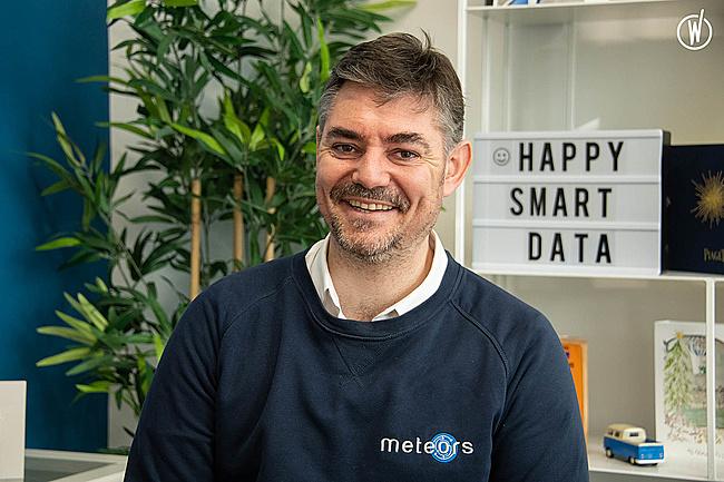 Rencontrez Olivier, CEO et fondateur - Meteors