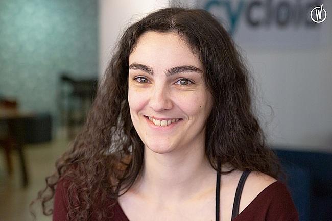 Meet Charline, UI Designer - Front-end Developer - Cycloid