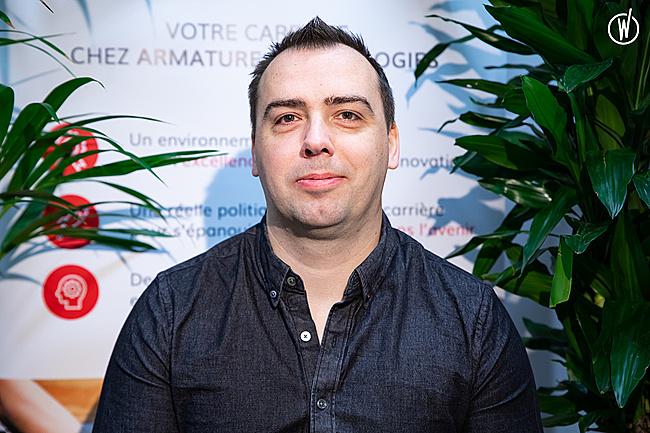 Rencontrez Philippe, Fondateur - Armature Technologies