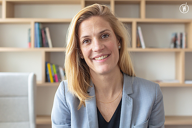 Rencontrez Mathilde, Urban Mobility Marketing and Customer Experience Director - Europcar Mobility Group