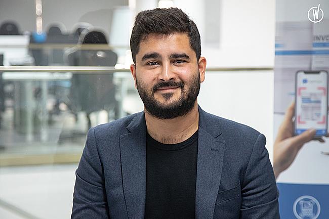 Rencontrez Khalil, Responsable technique de l'équipe Web - Expensya