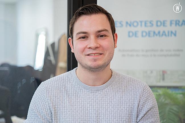Rencontrez Alexis, Ingénieur d'Affaires Grands Comptes  - Expensya